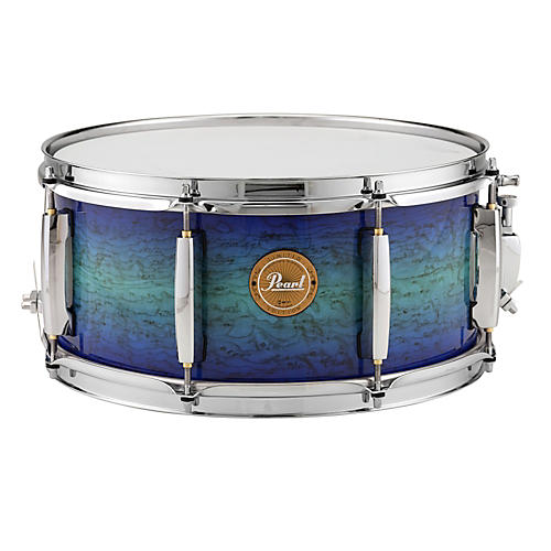 Pearl Limited-Edition Artisan II Lacquer Poplar/Maple Snare Drum-thumbnail