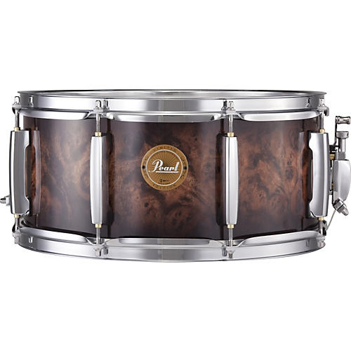 Pearl Limited Edition Artisan II Snare Drum Natural Walnut Burst 14x6.5