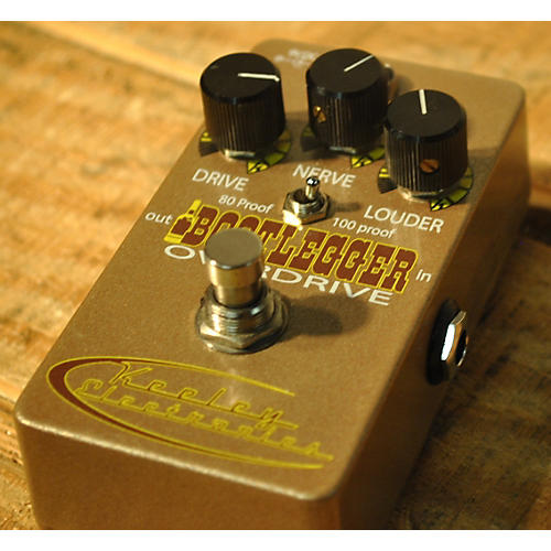 Keeley Limited Edition Bootlegger Germanium Overdrive Effect Pedal