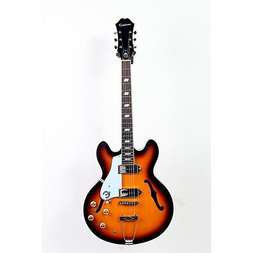 Epiphone Limited Edition Casino Left Handed Hollowbody Electric Guitar Vintage Sunburst 888365246611