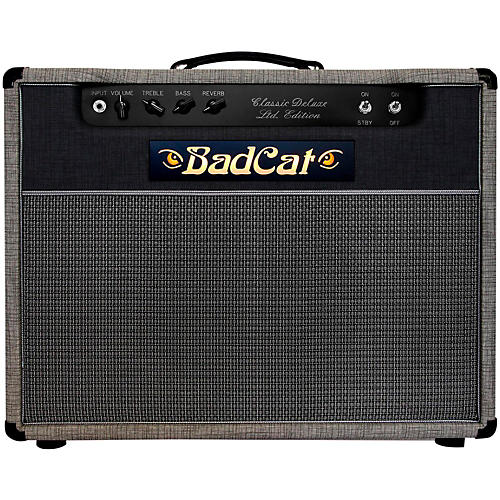 Bad Cat Limited Edition Classic Deluxe 22W 1x12 Guitar Combo Amp-thumbnail