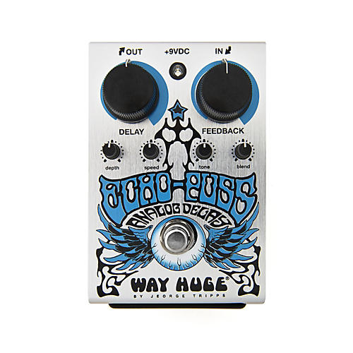 Way Huge Electronics Limited Edition Echo Puss Analog Delay Pedal-thumbnail