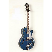 Limited Edition Emperor Swingster Blue Royale Electric Guitar Level 2 Chicago Pearl 190839063038