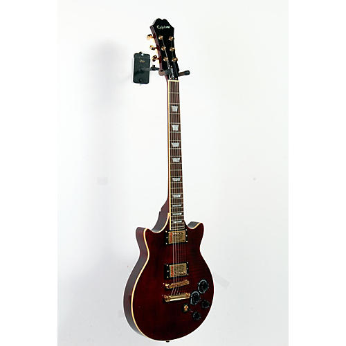 Epiphone Limited Edition Genesis Deluxe PRO Electric Guitar Black Cherry 888365225111
