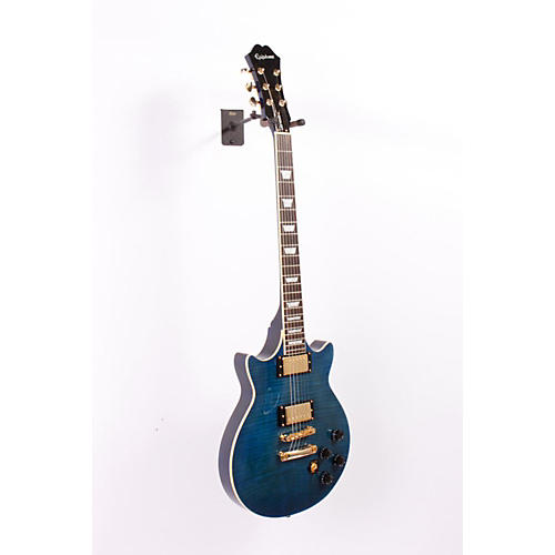 Epiphone Limited Edition Genesis Deluxe PRO Electric Guitar Midnight Sapphire 886830831751