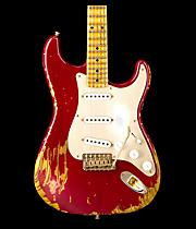 Limited Edition Golden 1954 Heavy Relic Strat with Gold Hardware & Gold Anodized Pickguard