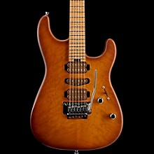 Charvel Limited Edition Guthrie Govan Signature San Dimas Caramelized 2-Piece Flame Maple Electric Guitar Britannica Red