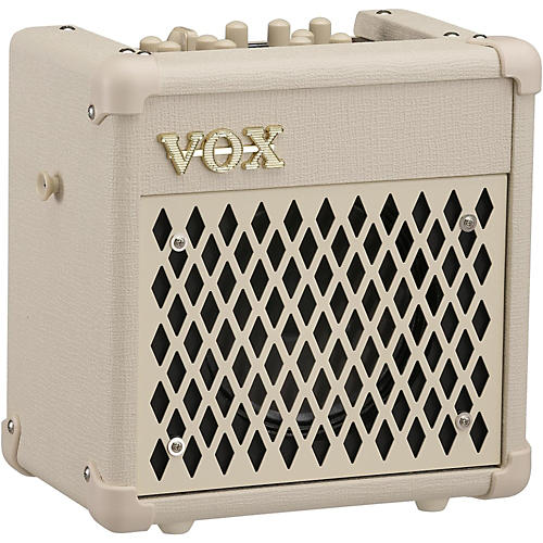 Vox Limited Edition Ivory Mini5 Rhythm Modeling Guitar Combo Amplifier-thumbnail