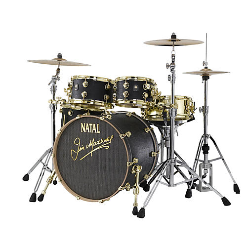 Natal Drums Limited Edition Jim Marshall Maple 4-Piece Shell Pack-thumbnail