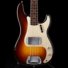 Fender Custom Shop Limited Edition Journeyman Relic '57 Precision Bass Rosewood Neck Electric Bass Guitar Chocolate 2-Color Sunburst