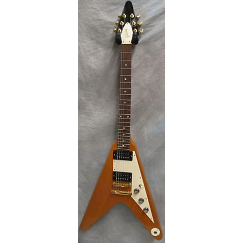 Gibson Limited Edition Korina Flying V Solid Body Electric Guitar