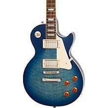 Epiphone Limited Edition Les Paul Quilt PRO Electric Guitar (Translucent Blue)