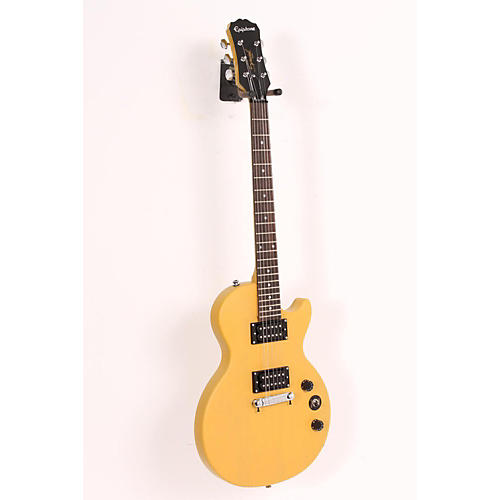 Epiphone Limited Edition Les Paul Special-I Electric Guitar Worn TV Yellow 886830986116