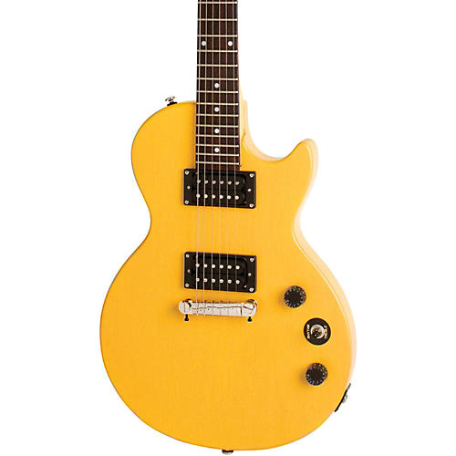 Epiphone Limited Edition Les Paul Special-I Electric Guitar Worn TV Yellow-thumbnail
