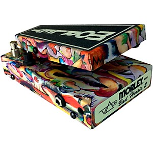 Click here to buy Morley Limited-Edition Mini Steve Vai Bad Horsie 2 Wah Effects Pedal by Morley.