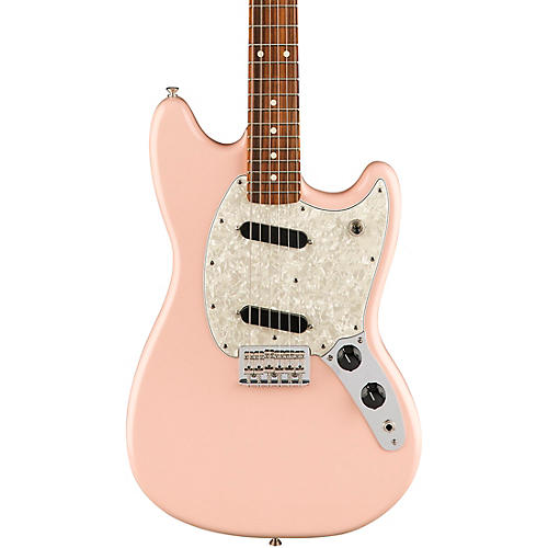 fender limited edition mustang electric guitar with pau ferro fingerboard shell pink guitar center. Black Bedroom Furniture Sets. Home Design Ideas