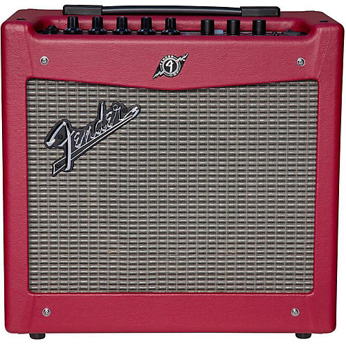 Fender Limited Edition Mustang I 20W 1x8 Guitar Amp Wine Red-thumbnail