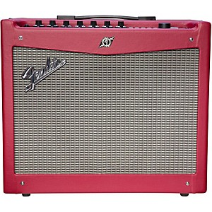 Fender Limited Edition Mustang III 100 Watt 1x12 Guitar Amp Wine Red