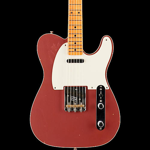 Fender Custom Shop Limited Edition NAMM 2016 Custom Built '50s Journeyman Relic Maple Fingerboard Telecaster Faded Burgundy Mist Metallic