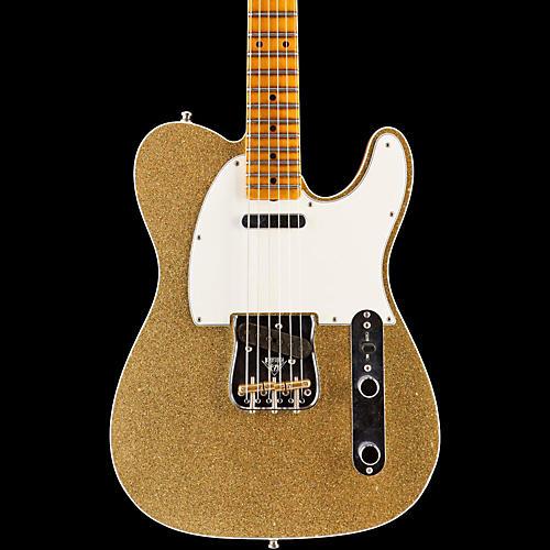 Fender Custom Shop Limited Edition NAMM 2016 Custom Built Postmodern Journeyman Relic Maple Fingerboard Telecaster Gold Sparkle