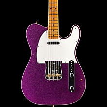 Limited Edition NAMM 2016 Custom Built Postmodern Journeyman Relic Maple Fingerboard Telecaster Magenta Sparkle
