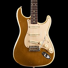 Limited Edition NAMM Custom Built '50s Journeyman Relic Rosewood Neck Stratocaster Aztec Gold