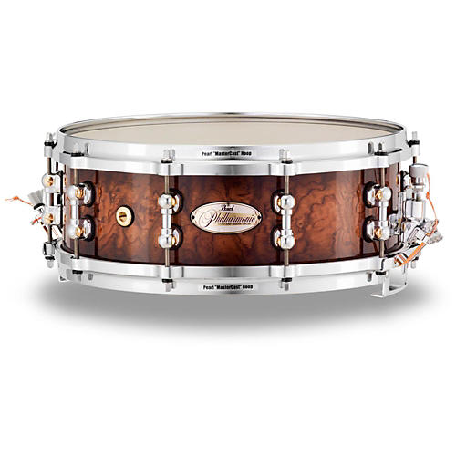 Pearl Limited Edition Philharmonic Bubinga Maple Snare Drum-thumbnail