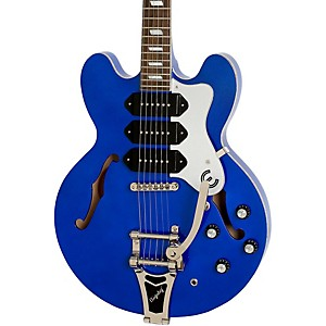 Limited Edition Riviera Custom P93 Blue Royale Electric Guitar Chicago Pearl