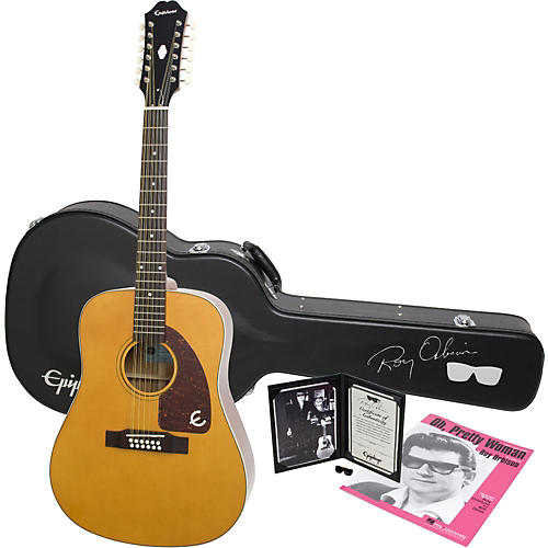 Epiphone Limited Edition Roy Orbison Bard 12-String Acoustic Guitar Package-thumbnail