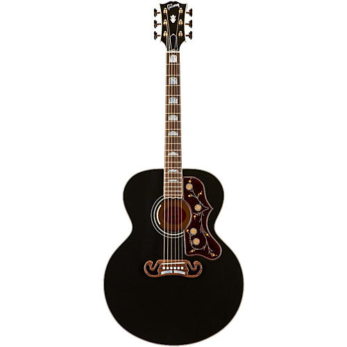 Gibson Limited Edition SJ-200 Ebony Acoustic-Electric Guitar