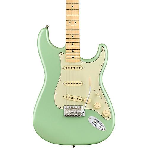 fender limited edition standard stratocaster maple fingerboard electric guitar sea foam pearl. Black Bedroom Furniture Sets. Home Design Ideas