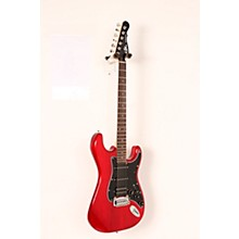 Limited Edition Tribute Legacy HSS Painted Headcap Electric Guitar Level 2 Transparent Red 190839104014