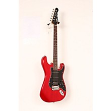 Limited Edition Tribute Legacy HSS Painted Headcap Electric Guitar Level 2 Transparent Red 190839112484