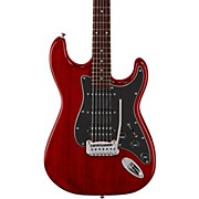 Limited Edition Tribute Legacy HSS Painted Headcap Electric Guitar Transparent Red