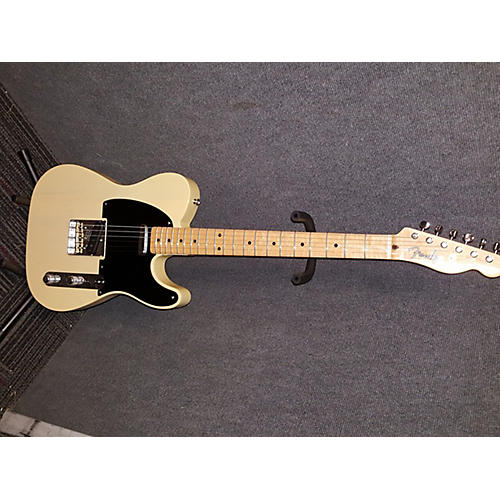 Fender Limited Edition Vintage 1952 Korina Telecaster Solid Body Electric Guitar-thumbnail