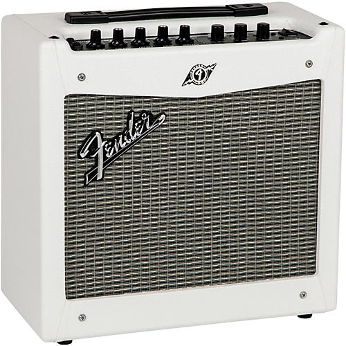 fender limited edition white mustang i v2 20w 1x8 guitar combo amp guitar center. Black Bedroom Furniture Sets. Home Design Ideas