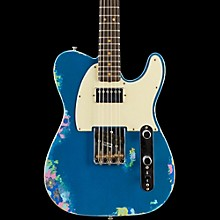 Limited Edtion 60s H/S Relic Tele Aged Lake Placid Blue over Blue Flower