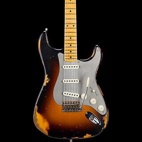 Fender Custom Shop Limited Edtion Heavy Relic El Diablo Stratocaster Wide Fade 2-Color Sunburst