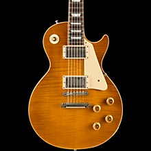 Gibson Custom Limited Run 1959 Les Paul Standard Flame Top VOS w/Brazilian Rosewood Fingerboard Electric Guitar Dirty Lemon Fade