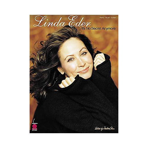 Cherry Lane Linda Eder - It's No Secret Anymore Piano/Vocal/Guitar Artist Songbook-thumbnail