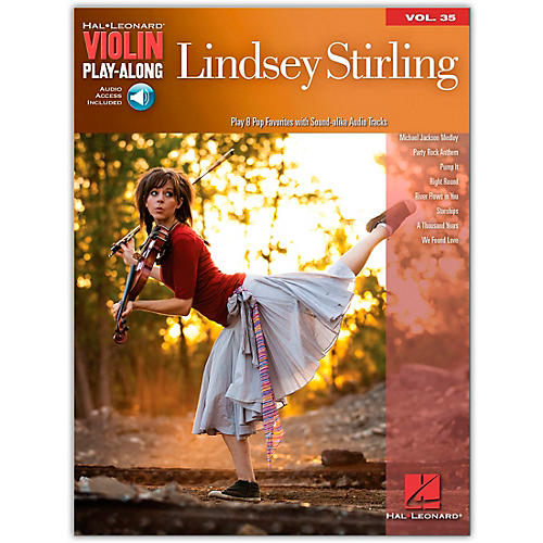 Hal Leonard Lindsey Stirling - Violin Play-Along Volume 35 Book/CD-thumbnail
