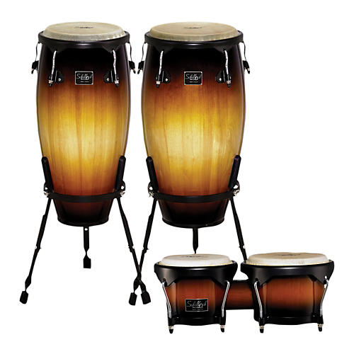 Schalloch Linea 100 Series 2-Piece Tumba Set with Bongos