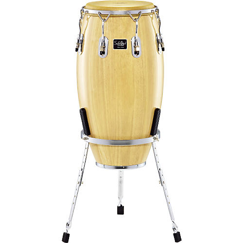 Schalloch Linea 400 Conga with Basket Stand 12 in. Tumba Natural