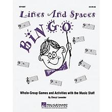 Hal Leonard Lines And Spaces Bingo (Game)