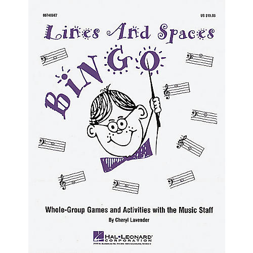Hal Leonard Lines And Spaces Bingo (Game)-thumbnail
