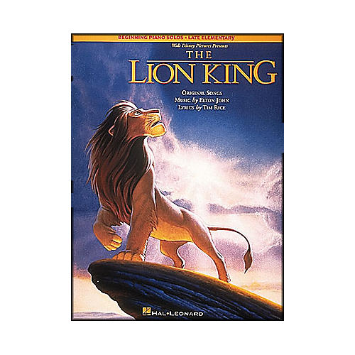Hal Leonard Lion King, The Beginning Piano Solos Late Elementary-thumbnail
