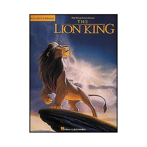 Hal Leonard Lion King for Big Note Piano-thumbnail