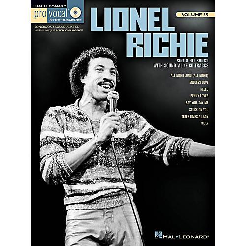 Hal Leonard Lionel Richie - Pro Vocal Men's Edition Volume 55 Book/CD-thumbnail
