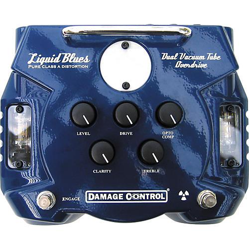Damage Control Liquid Blues Dual Tube Overdrive Pedal-thumbnail