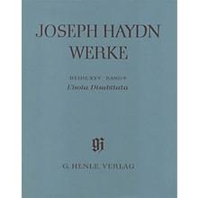 G. Henle Verlag L'isola Disabitata - Azione Teatrale HOB.XXVIII:9 Henle Complete Ed by Haydn Edited by Günter Thomas